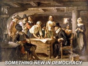 X SOMETHING NEW IN DEMOCRACY