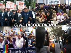 X CIVIL DISOBEDIENCE