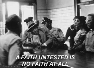 X A FAITH UNTESTED IS NO FAITH AT ALL