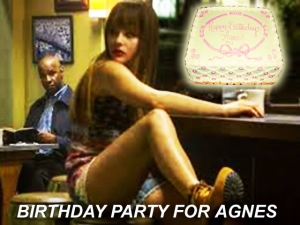 X BIRTHDAY PARTY FOR AGNES