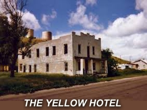 X THE YELLOW HOTEL