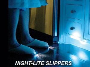 X NIGHTLITE SLIPPERS