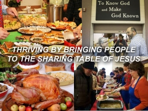 X THRIVING BY BRINGING PEOPLE TO THE SHARING TABLE