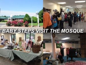 X BABY STEPS VISIT THE MOSQUE