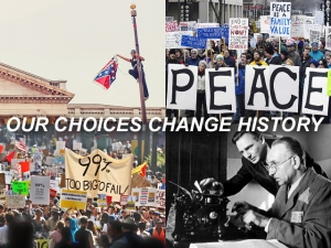 X OUR CHOICES CHANGE HISTORY