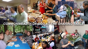 X COMMONWEALTH OF GOD AT THE SHARING TABLE